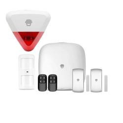 Chuango 4G WiFi Σύστημα Συναγερμού και αυτοματισμού με εξωτερική σειρήνα - LTE-400-KIT2