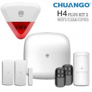 Chuango H4 Plus WiFi/GSM  Smart Home Security System - H4 Plus-KIT2