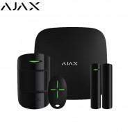 Ajax Ασύρματο Σύστημα Συναγερμού LAN και GSM ΜΑΥΡΟ- ΔΩΡΟ Smart Πρίζα 16A - AJHUBK-B