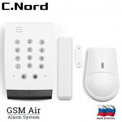 C.Nord GSM Air Alarm System with 1 motion sensor and 1 magnetic contact - Air