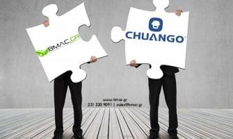 Συνεργασία BMAC.GR - Chuango