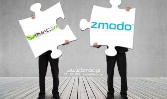 Συνεργασια BMAC.GR -  ZMODO