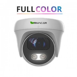BMC AHD 1080p  Αδιάβροχη Dome Κάμερα με Έγχρωμη Νυχτερινή Λήψη -  BM200FSHW