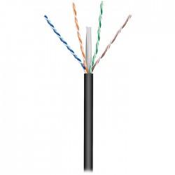 Καλώδιο δικτύου CAT 6, U/UTP, μονόκλωνο, σε κουλούρα 100m, ιδανικό για εξωτερική χρήση- 57293