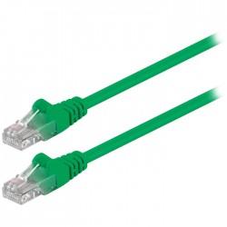 Καλώδιο δικτύου CAT5e U/UTP patchcable 1μ. πράσινο- 68343