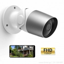 Laxihub WiFi 1080p IP κάμερα εξωτερικού χώρου με αμφίδρομο ήχο - O1