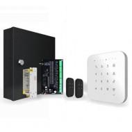 Maxkin WiFi/GSM Ασύρματο Σύστημα Συναγερμού με 16 ενσύρματες ζώνες με τεχνολογία FHSS -  T1-R1