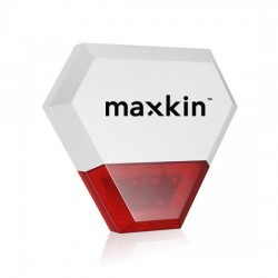 Maxkin  Ασύρματη WiFi Αυτόνομη Σειρήνα Εξωτερικού Χώρου  115 dB   - WS-902PLUS