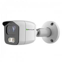 BMC IP Κάμερα 4MP Full Color SONY Starvis 2.8mm IP67 - 2Way Audio  - BMSASS400WH