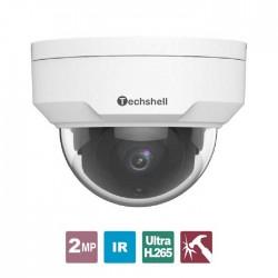 Techshell IP Εξωτερική Κάμερα Οροφής 2MP PoE- IPC-E2D3 2.8