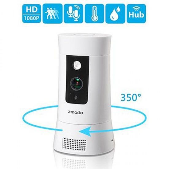 Zmodo Pivot Cloud 1080p Full HD WiFi 350° Rotating Security