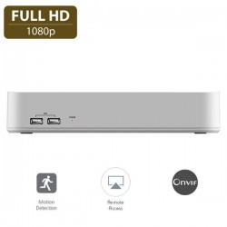 BMC NVR 8κάναλο καταγραφικό 720P/1080P - N2008A-H