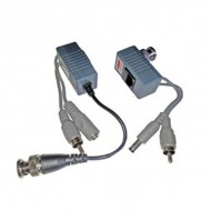 CCTV Moνοκάναλο παθητικό ballun με Ήχο - BMC-213BC