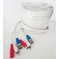 Καλώδιο CCTV/AHD-Αναλογικών καμερών με ήχο 30μ - BMC30HT