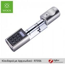 WOOX WiFi κλειδαριά ασφαλείας με κωδικό και εφαρμογή - R7056