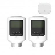 WOOX WiFi - Zigbee Gateway (HUB) με 2x βάνες καλοριφέρ - R7067