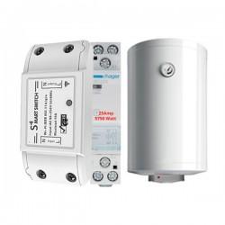 WOOX Smart WiFi Σύστημα Χειρισμού Θερμοσίφωνα 25A έως 5750 watt- R4967-R