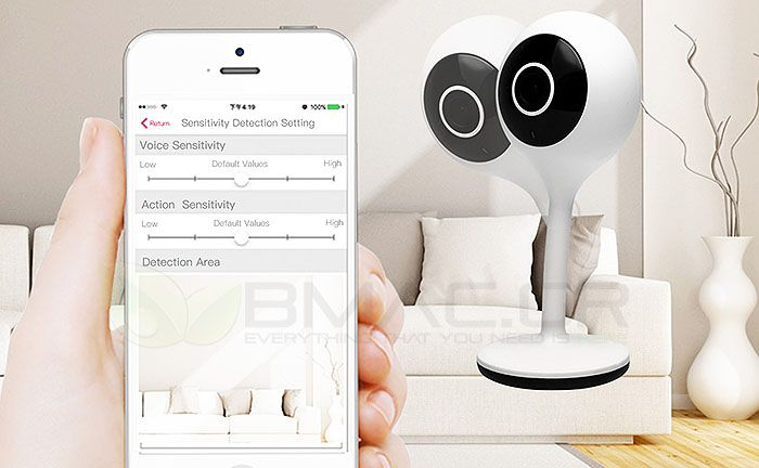 WOOX IP WiFi Camera with two way audio and motion detection- R4024