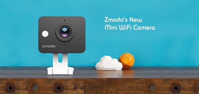 IP 720P HD Mini Wifi Network Camera w/ Audio- ZM-SH75D001-