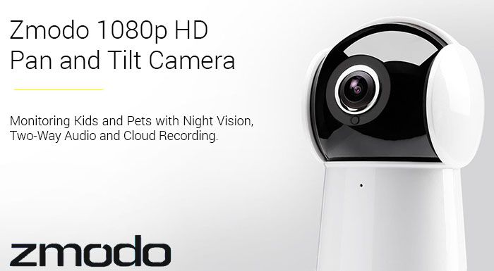 Zmodo Panda 1080p Full HD Pan and Tilt Camera- SD-H2001